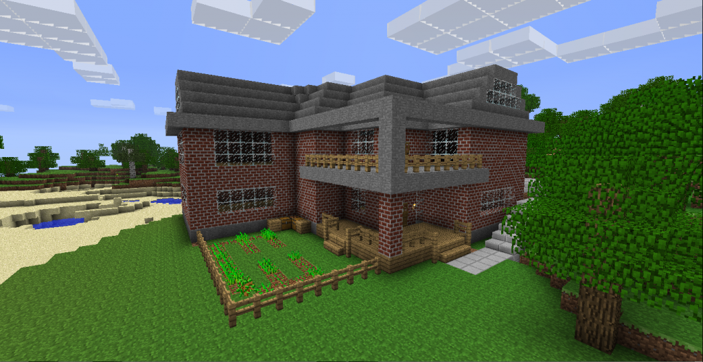 Wonderful Minecraft House 1024 x 528 · 834 kB · png